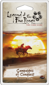 Legend of the Five Rings:  The Card Game -  Campaigns of Conquest Dynasty Pack